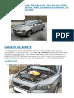 Brico Aceite y Filtros Volvo S40 2.0D de 2005