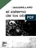 Baudrillard Coleccion