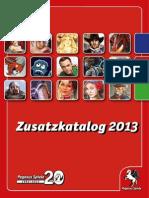 Pegasus Spiele Zusatzkatalog 2013