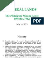 Mineral Lands Ppt