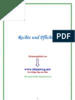 Rechte Und Pflichten - Islamweg.net