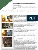 Insider News - 1692 - LA Police Detectives Investigating Hastings Assassination Ambushed