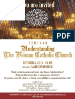 Roman Catholics 2013 Seminar