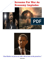 Insider News - 1704 - Obama Screams for War as Global Economy Implodes