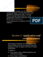 Payment of Gratuity Act Ppt