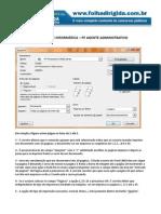 FOLHA+DIRIGIDA+-+QUESTÕES+DE+INFORMÁTICA+-+PF+AGENTE+ADMINISTRATIVO
