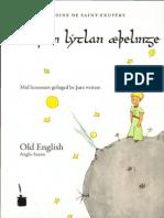 Be þam lytlan æþelinge