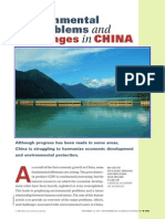 Env Problems and Challenges in China 2007 Fu