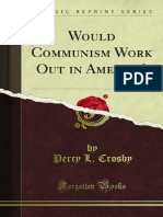 Would Communism Work Out in America - Percy L Crosby