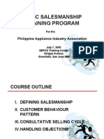 sales training ppt sales business