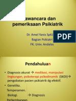 Skills Lab Wawancara dr. Amel, SpKj
