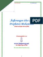 Aeusserungen Ueber Den Propheten Mohammed - Islamweg.net