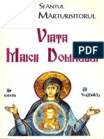 Sf Maxim Marturisitorul Viata Maicii Domnului