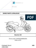 Beverly 125 parts manual