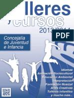 Talleres y cursos 2013/2014 de la Concejalía de Juventud e Infancia - Ayuntamiento de Fuenlabrada