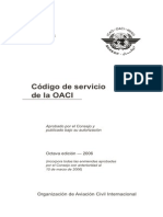 Doc 7350 - Codigo de Servicio de La Oaci Esp