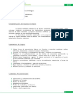 Planificacion 2013 QUIMICA BIOLOGICA