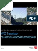 WECC Planning - HVDC Bahrman
