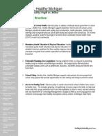 HKHM 2013 Policy Priorities
