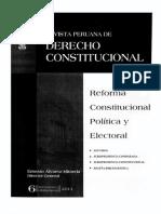 CDG - Reforma y refundación del régimen representativo (PERU, Septiembre 2013)