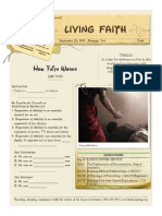 Living Faith 2 Luke 7-1-10 Handout 092213