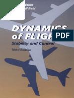 Dynamics of Flight-Bernard Etkin