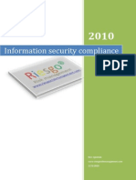 ISO 27001 ISMS Compliance Tool