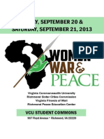 War, Women & Peace