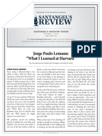 Jorge Paulo Lemann - What I Learned at Harvard
