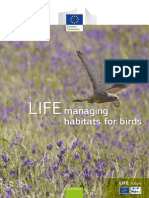 LIFE Managing Habitats for Birds