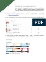 Tutorial Para Armar Encuestas en Google Drive