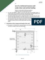 Shear Wall Bending V1.0