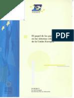 El Papel de Los Padres en Los SE Europeos
