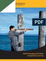 Survey Report_Managing Portfolio Investments Final