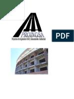 PROINGSA es una empresa de Ingeniería Civil que ofrece los siguientes servicios