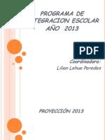 Presentacion Pie 2013 Porma