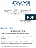 A Comparative Study on Fundamental and Technical Analysis
