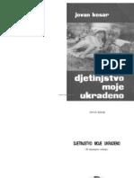 Jovan Kesar Djetinstvo Moje Ukradeno Jasenovac