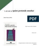 Paulo Freire_Primera Carta 2004