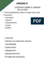 UNIDAD II de Biologia