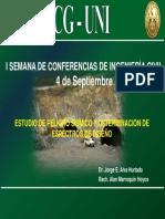 10.Estudios de Peligro Sismico y Determinacion de Espectros de Diseño-ICG-UNI