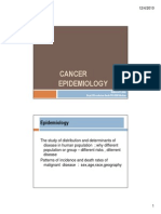 Cancer Epidemiology