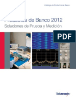Catalogo Tektronix 2012