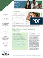 wida focus on differentiation part i