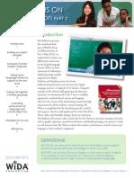 wida focus on differentiation part 2