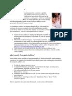 a Neuropatía Auditiva