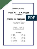 Haydn's Missa in Tempore Belli