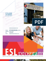ESL International Program Brochure CH