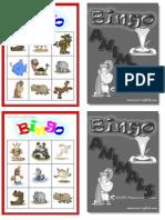 Animals1 Bingo Bw