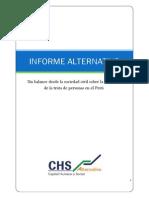 CHS Informe Alternativo Trata Personas Set2013